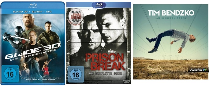 Prison Break Bluray
