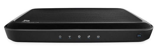 WD My Net N900 Central Dualband HD Router mit interner Festplatte