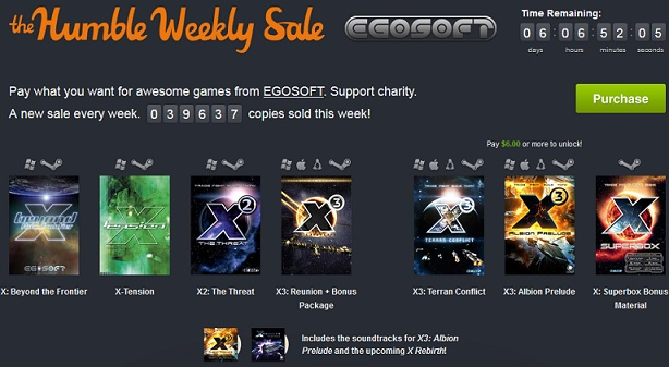 the humble weekly sale steam