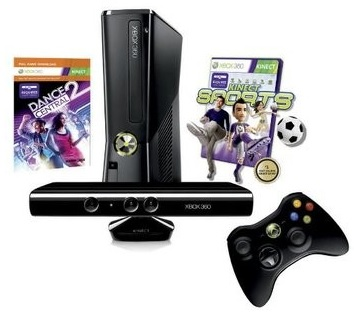 xbox360 bundle slim kinect