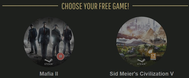 choose your free game
