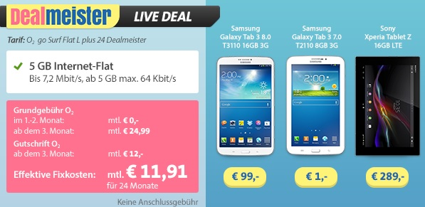 sparhandy live deal dealmeister