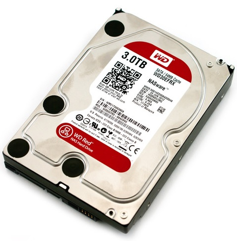3TB Western Digital RED NAS 3000GB
