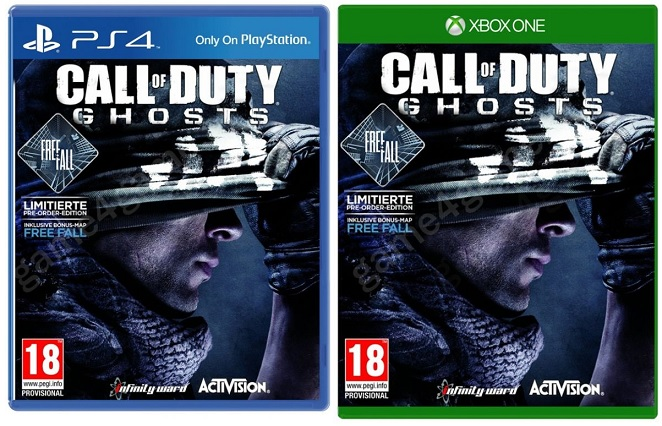 Call of Duty Ghosts + Free Fall  uncut AT