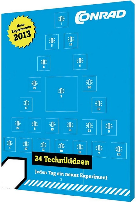 Conrad Elektronik-Adventskalender 2013