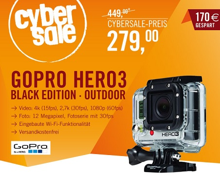 gopro hero3 black outdoor edition touchscreen ab 329. Black Bedroom Furniture Sets. Home Design Ideas