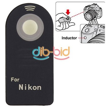Wireless IR Infrared Shutter Remote Control for Nikon Digital Camera
