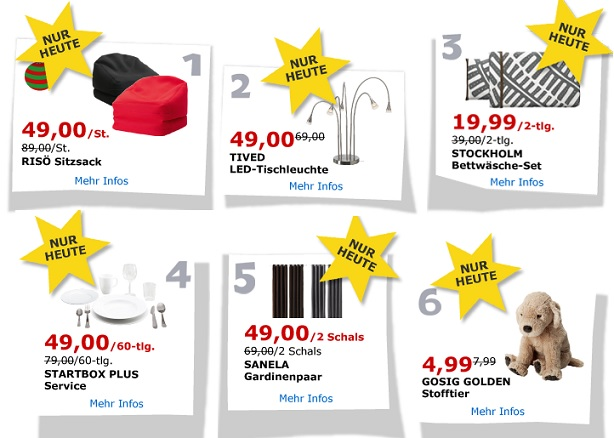 ikea adventskalender 2013 alle angebote bereits jetzt anschauen. Black Bedroom Furniture Sets. Home Design Ideas