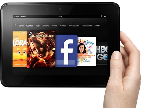 Kindle Fire HD-Tablet