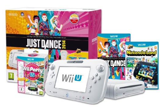 Nintendo Wii U Console basic just dance