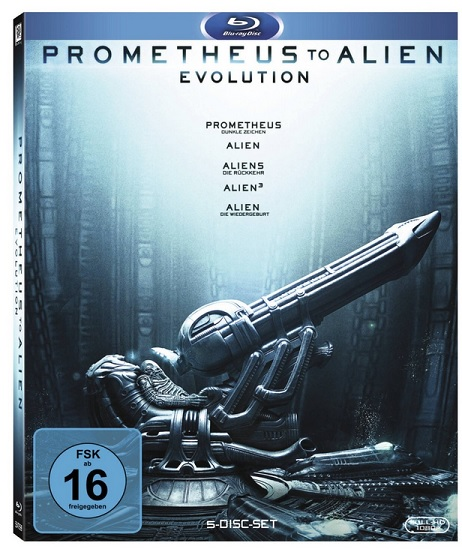 Prometheus to Alien Evolution