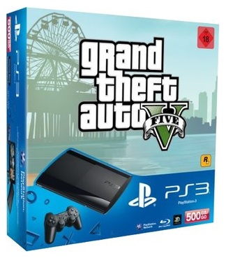 Sony PS3 Bundle mit GTA5