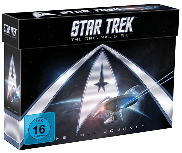 Star Trek The Original Series - The Full Journey [23 DVDs]