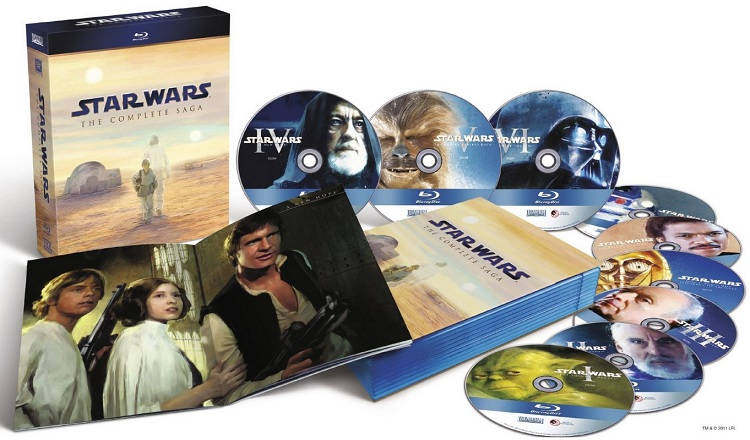 Star Wars The Complete Saga I-VI