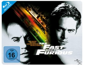 The Fast and Furios Bluray