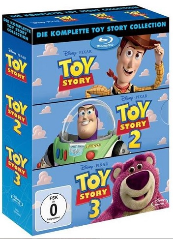 Toy Story 1-3 Pack bluray