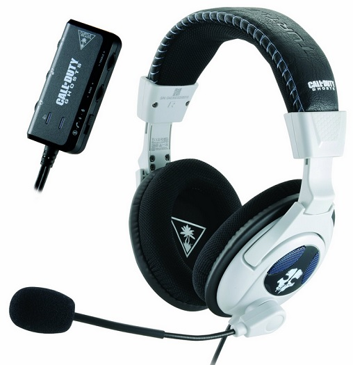 Call of Duty Ghosts Ear Force Shadow Stereo Headset