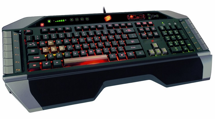 Mad Catz V.7 Gaming Tastatur