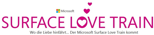 Microsoft Surface Love Train