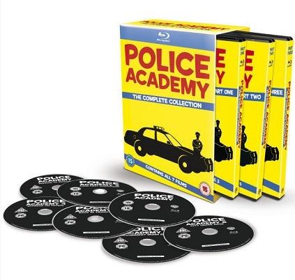 Police Academy - The Complete Collection Blu-ray