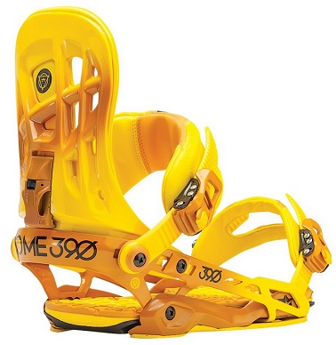 Snowboard Binding Rome 390 orange