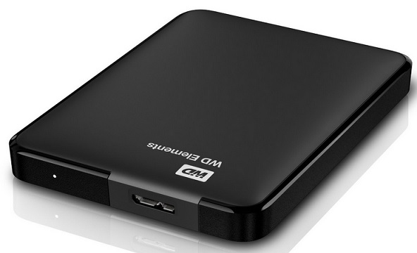 WD Elements Portable externe Festplatte 2TB