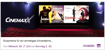cinemaxx gutscheine vente privee
