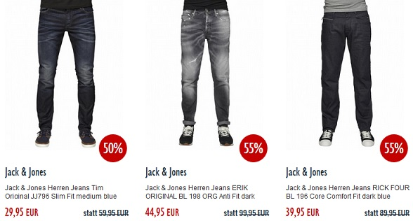Jack Jones Jeans guenstiger