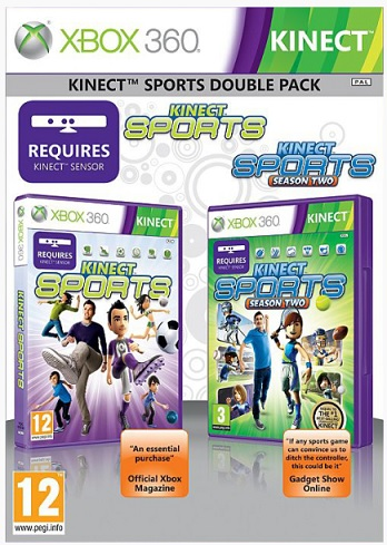 XBox 360 - Kinect Sports Double Pack