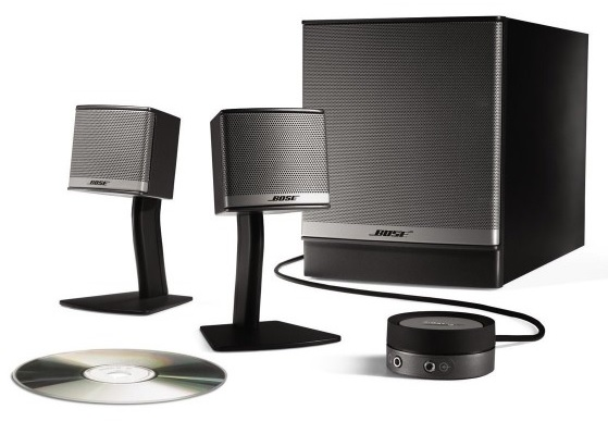 bose companion 3 f r 199 schlichtes pc. Black Bedroom Furniture Sets. Home Design Ideas