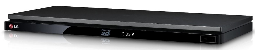 LG BP730 3D Blu-ray-Player mit Magic Remote
