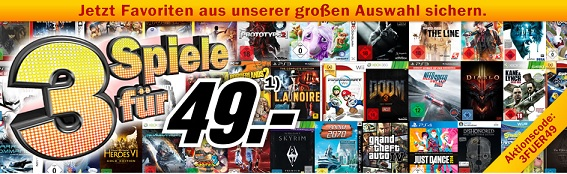 Media Markt Games Aktion 2014