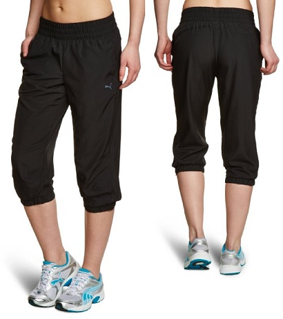 puma ess woven damen 3 4 jogginghose f r 8 99. Black Bedroom Furniture Sets. Home Design Ideas