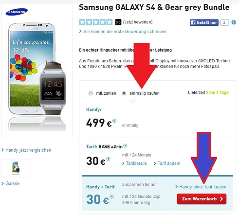 Samsung Galaxy Bundle