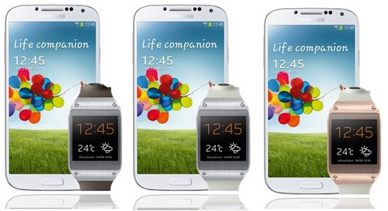 Samsung Galaxy S4 Samsung Galaxy Gear