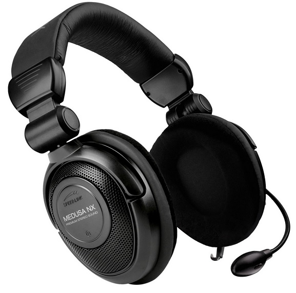 Speedlink Medusa NX 7.1 Surround Headset USB schwarz