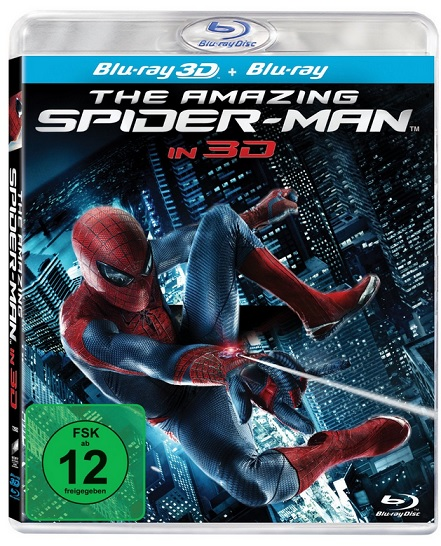 The Spiderman in 3D Bluray