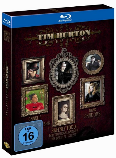Tim Burton Collection exklusiv bei Amazon.de Blu-ray