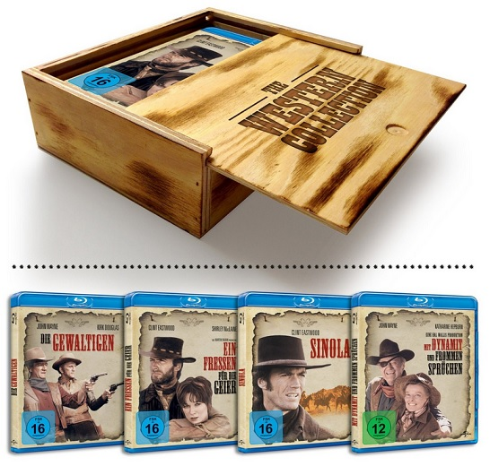 Western Collection - Holzbox [Blu-ray]