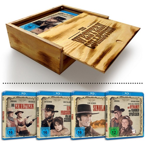 Western Collection - Holzbox
