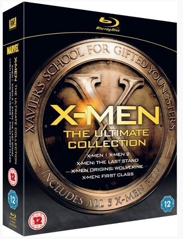 X-Men Ultimate Collection Blu-Ray