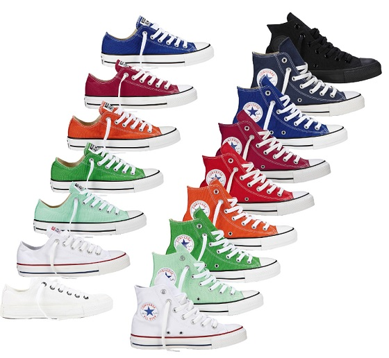 Converse Chuck Tailor Chucks All Star Hi Ox Can Canvas Schuhe