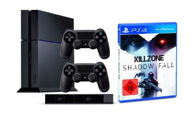 PS4 2 Controller PS4 Kamera Killzone Shadow Fall