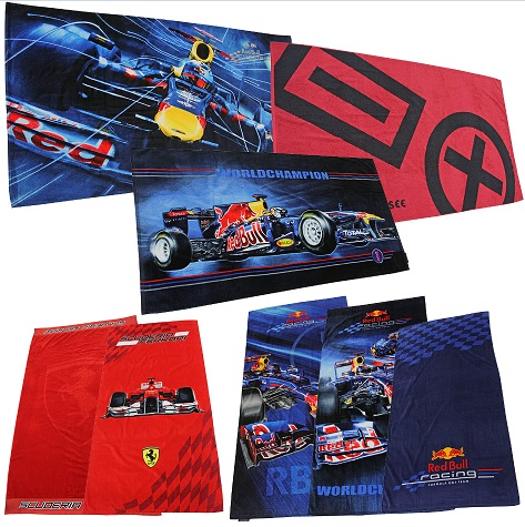 Red Bull Ferrari Handtuecher