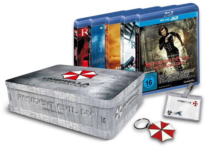 Resident Evil 1-5 Collectors Box