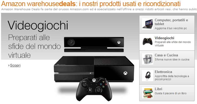 amazon warehousedeals italien