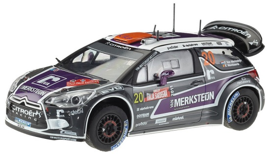 Carrera 20027408 Evolution Citroen DS3 WRC Van Merksteijn