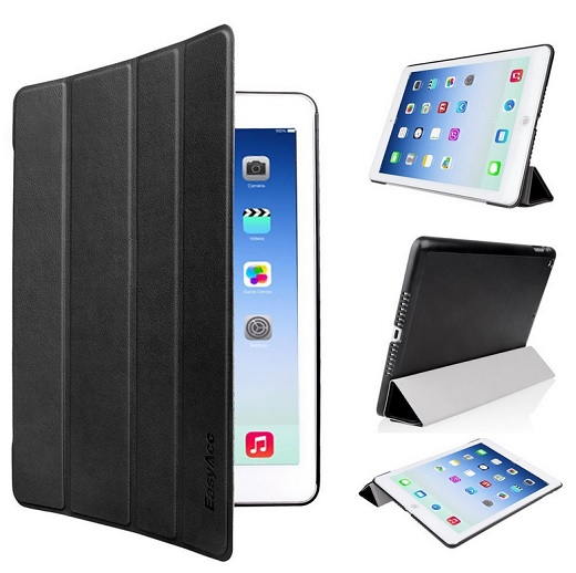 EasyAcc Ultra Slim Apple iPad Air hülle Case Smart cover mit Standfunktion