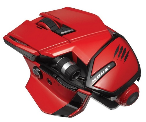 Mad Catz M.O.U.S.9 Wireless Maus für PC