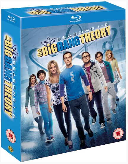 The Big Bang Theory Bluray